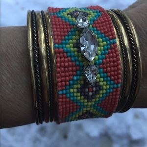 Jewelry - Cali ☀️boho bling bracket,HP